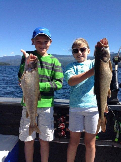 Kids Fishing Priest Lake